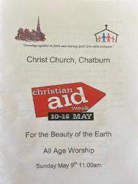 Christian Aid All Age Service
