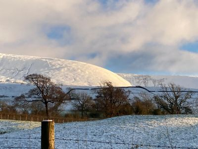 Snowy Pendle Hill
