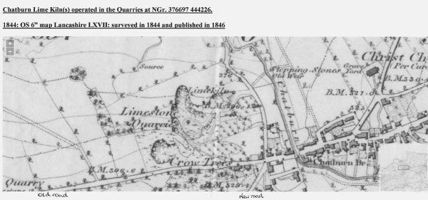 Chatburn Lime Kiln 1844