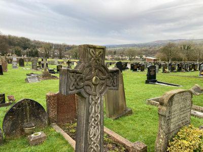 Graveyard Cross