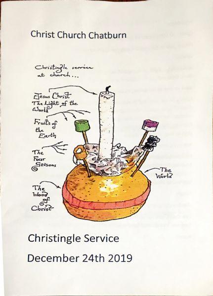 Christingle order of Service