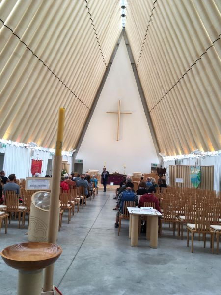 Cardboard Cathedral Christ Church New Zealand