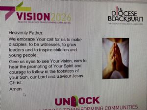 Updated Vision Prayer