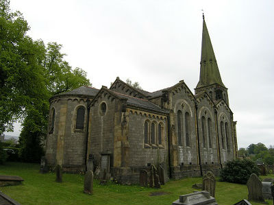 Church showing south side view
