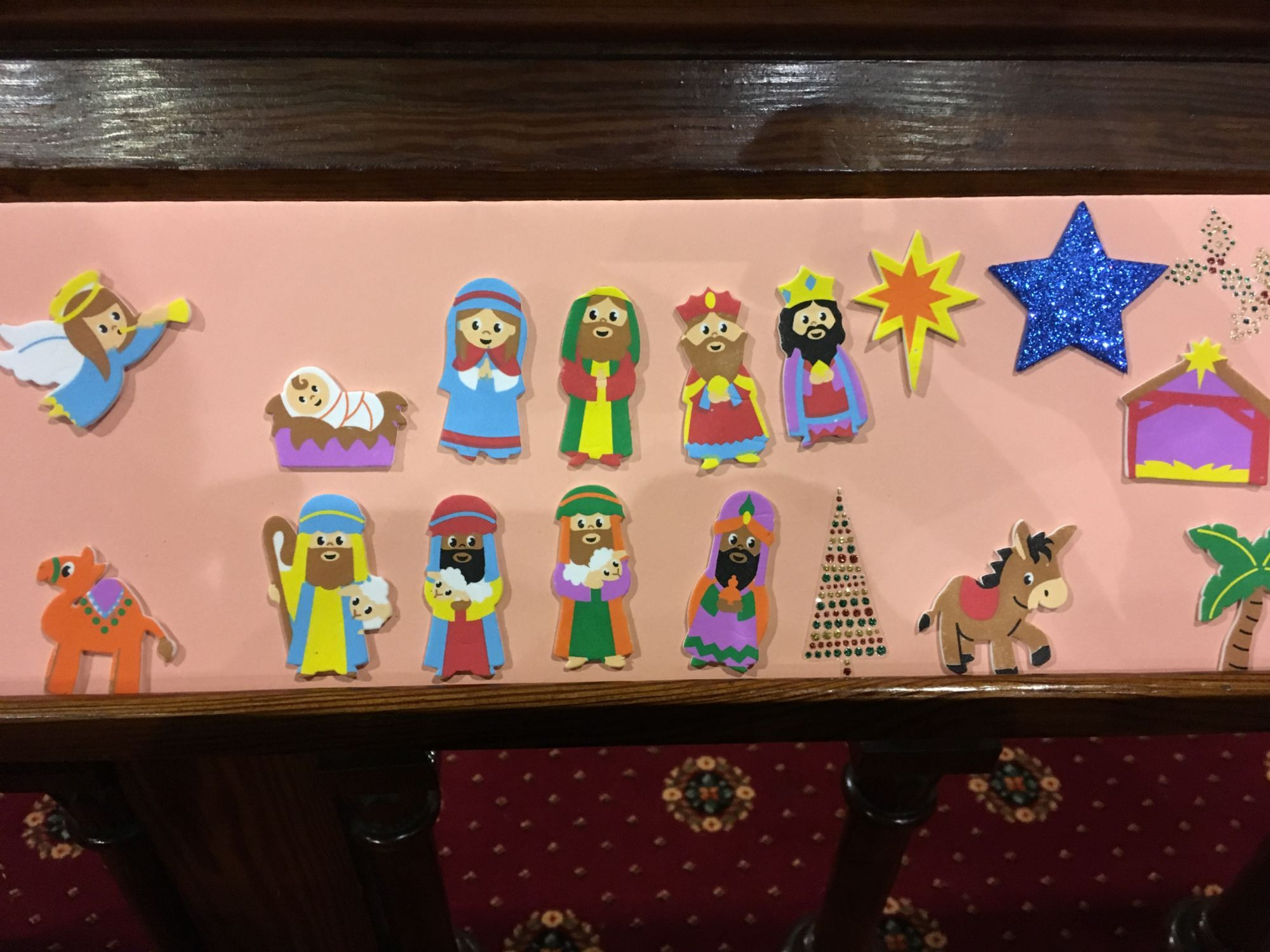 Nativity sticker Montage