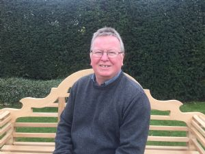 Peter on bench March 2019