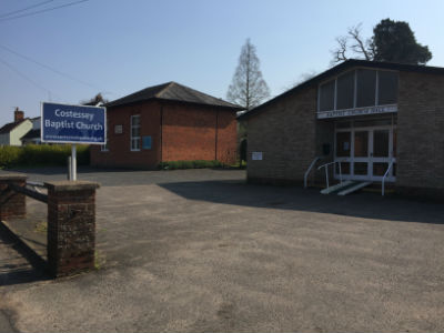 Costessey Baptist Church and hall