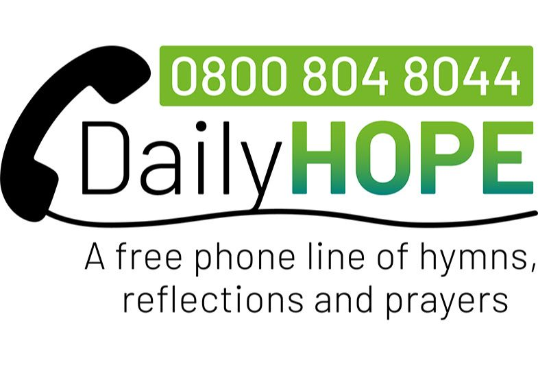 Church of England freephone message