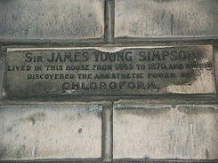 Sir James Simpson Plaque
