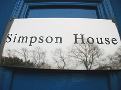 Simpson House Plaque