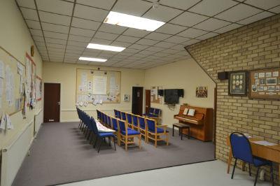 Vestry meeting room
