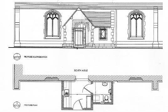 Arch. plan of loo