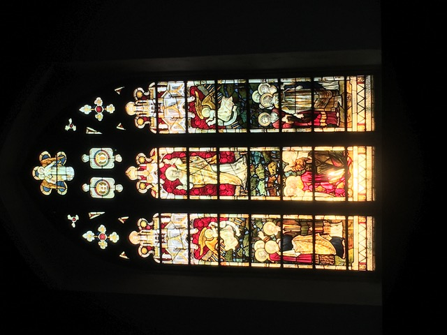 Harston Church window