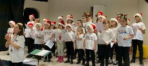 Christmas Fayre School choir