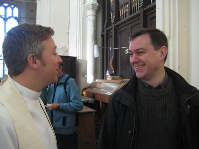 Archdeacon and Alastair