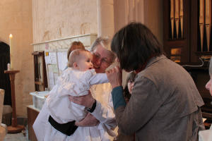 Baptism with Brigid