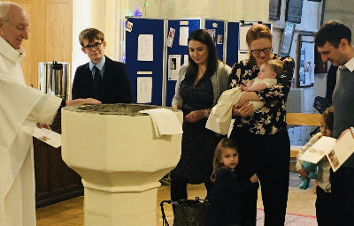 Baptism at Harston 2