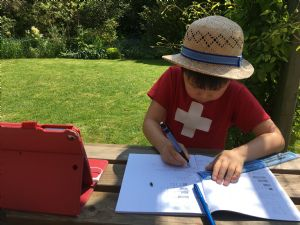 Home-schooling in the Garden