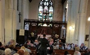 Peter Mackley conducting