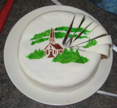 Ben church cake