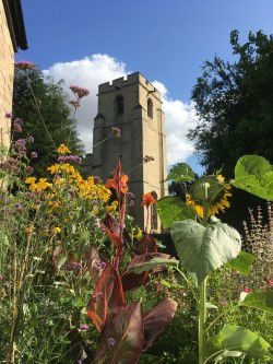 Church from Vicarage Garden