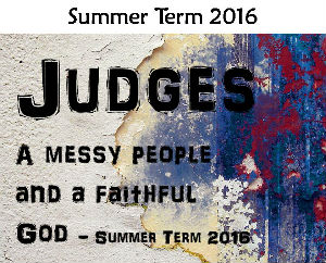 2019 - Judges sermon logo