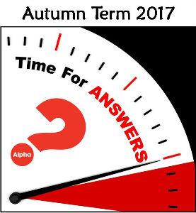 2019 - Alpha Answer sermon logo