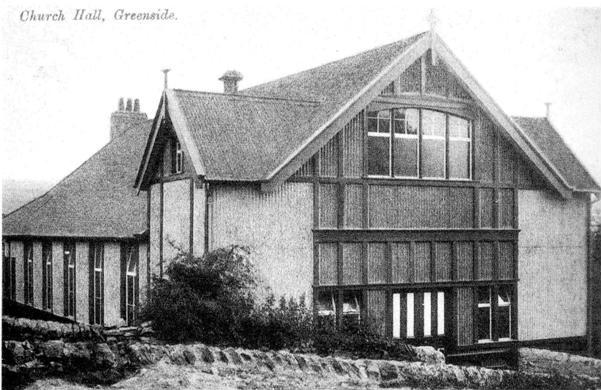 Greenside Parish Hall 1906