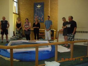 Baptism Holy Spirit 5 Sept 2010 Group