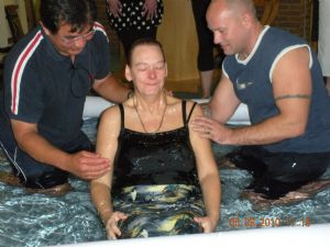 Baptism Holy Spirit 5 Sept 2010 Pam