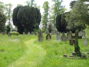 Gods Acre burial ground