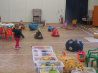 WLTDO? Toys in Church Hall