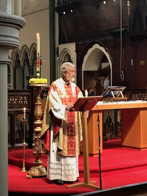 Fr John preaching