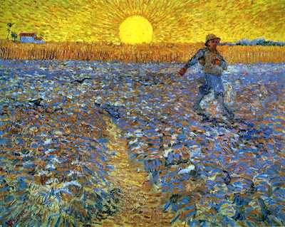 The Sower with Setting Sun 1888 van Gogh