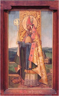 St Ambrose of Milan