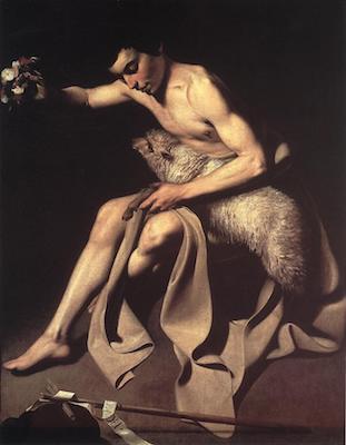 Caravaggio - St John the Baptist