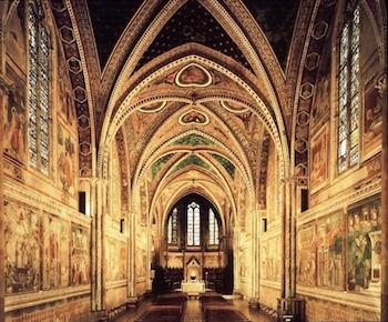 Basilica Francis interior