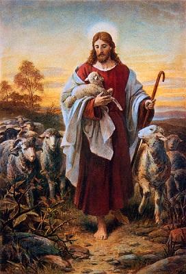 Good Shephard, by Bernhard Plockhorst