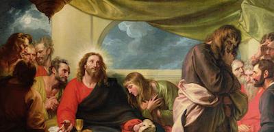 Judas given the sop