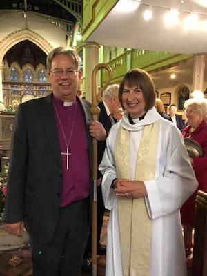 Bishop Stephen and Rev Sally