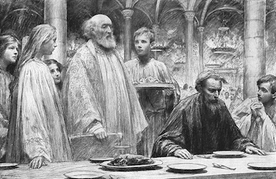 Parable of the Wedding Feast (Eugène Burnand)