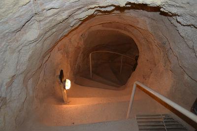 Inside Herodion
