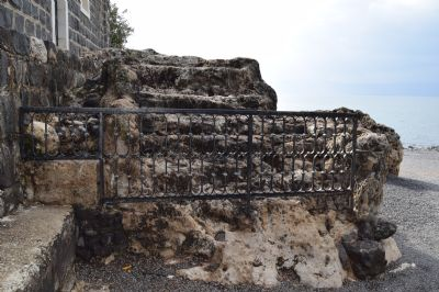 Possible original steps in the time of Jesus leading down to the Sea of Galilee