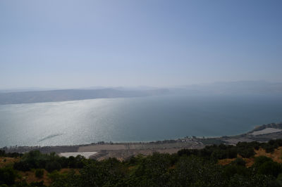 View of the Galilee from the Golan Heights