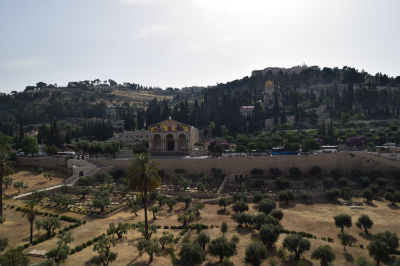 Kidron Valley, Church of the Agony and Mount of Olives