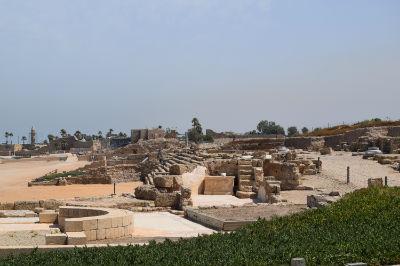 Caesarea excavations