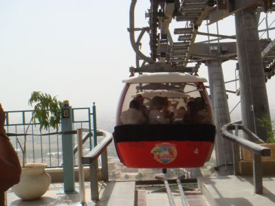 Cable Car to the Monastery of Temptation