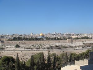 Panoramic view of the Old City