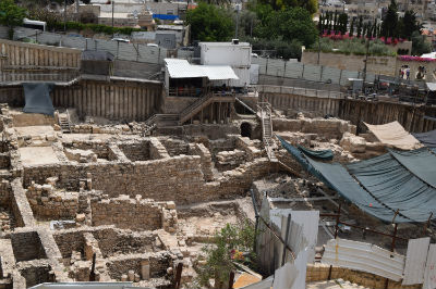 Excavations in Jerusalem