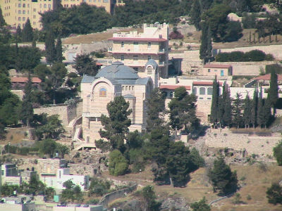 Church of St Peter in Gallicantu (possible site of the High Priest's House)